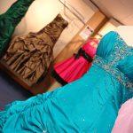 Oryginalne suknie Rihanny